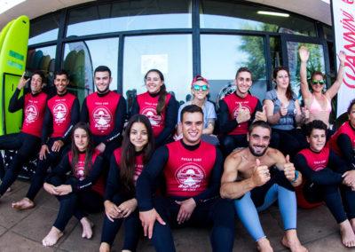 Clase de surf Peña Txuri Grupo Adultos